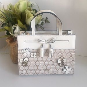 Kate spade Hayes bee embellished small Satchel